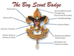 The Boy Scout Badge