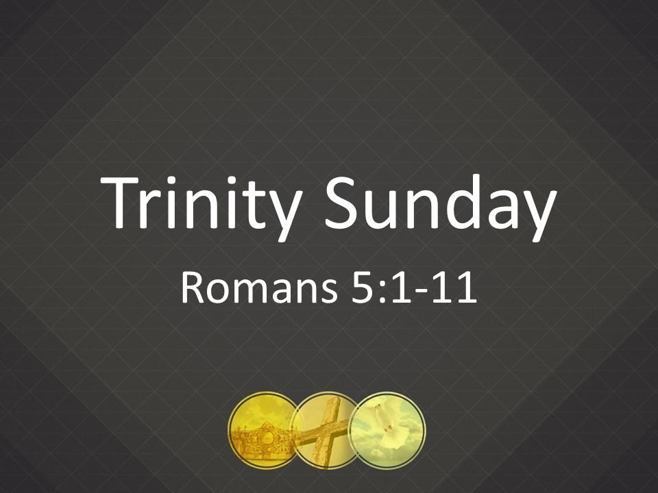 20160522 Trinity Sunday