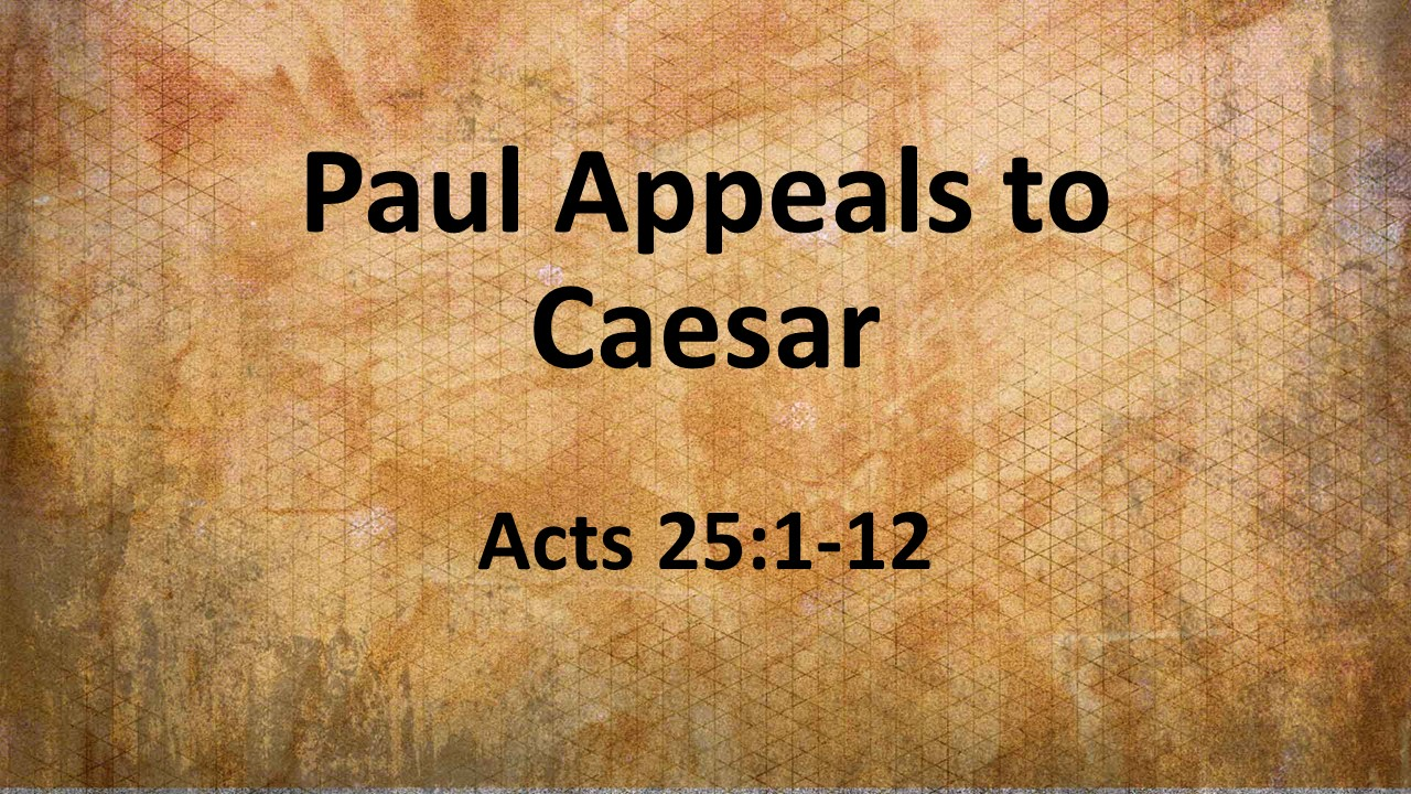 Image result for paul appeals to caesar