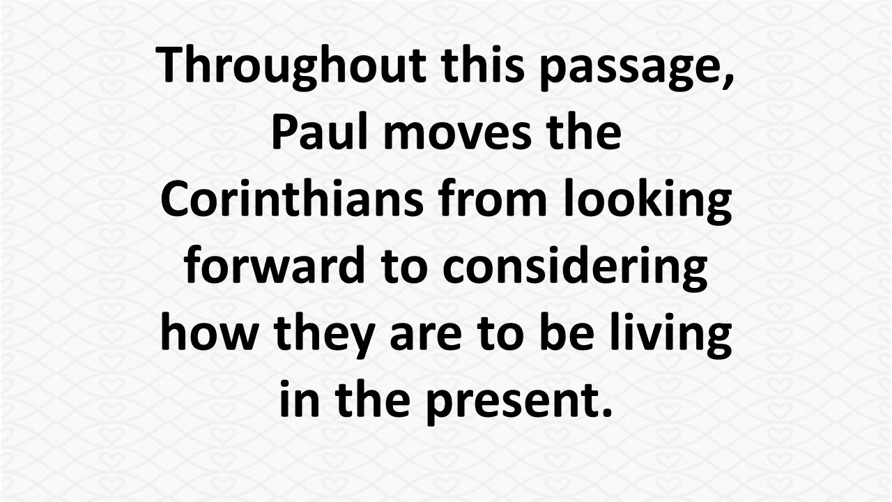 """7d4e684d1e118 Paul brings this essay to a conclusion with a final statement in which he  calls the Corinthians, """"my beloved."""" It's like saying, """"My dear friends."""