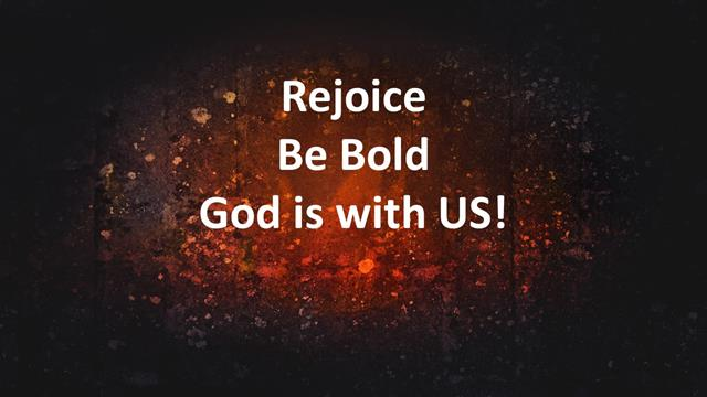 a8273906 Rejoice, today is Pentecost. Be bold, for God is with us. Amen.